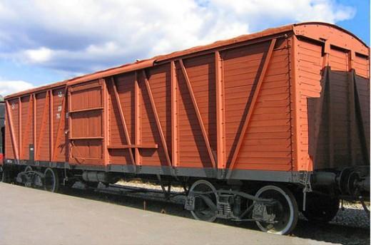 перевозка в крытых вагонах